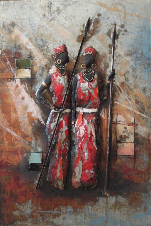 art metal africaines
