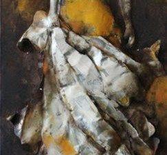 Art metal maillot jaune