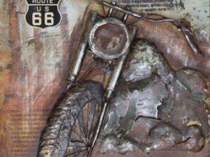 art metal harley davidson
