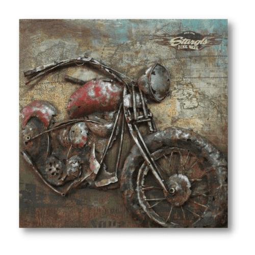 art metal sturgis bike