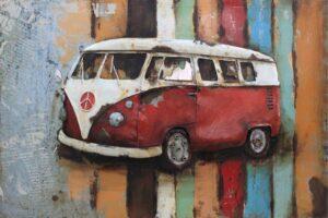 art metal van volkswagen 70