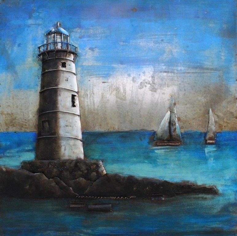 art metal phare