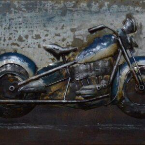 art métal moto ancienne
