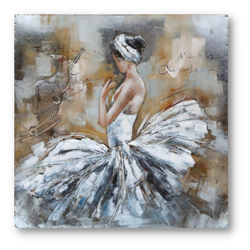 Art metal White Balerina