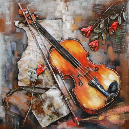 Art métal violon