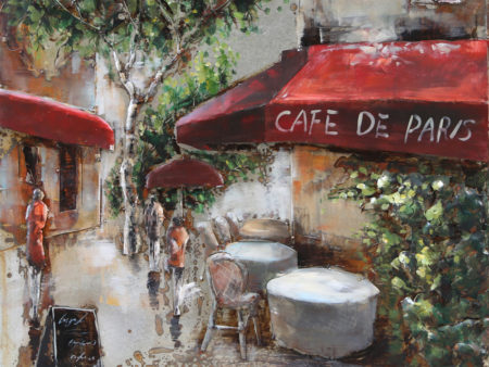 Art metal Café de Paris