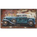 Art metal voiture de Collection