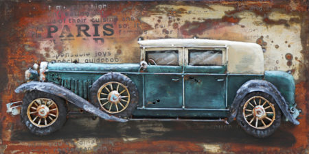 Art metal voiture de Collection
