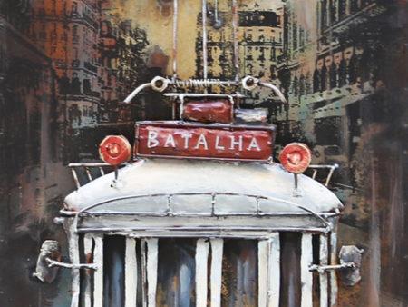 Art metal tramway Batalha