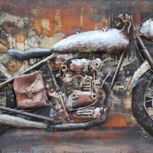 art metal tbleau moto