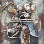 art metal moto route 66