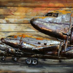 Avions sur le tarmac