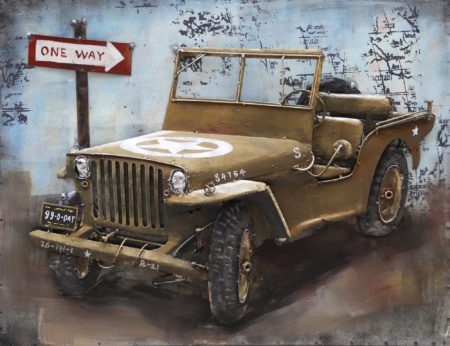 Jeep for one way