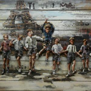 Les enfants à Paris