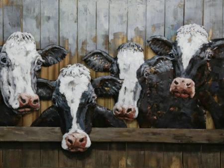Les vaches à la ferme
