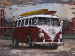 Volkswagen à la mer
