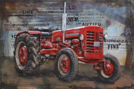 Tableau Tracteur pour salon Industriel