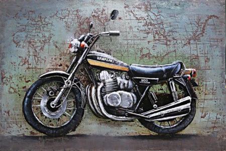 Tableau Moto Kawasaki