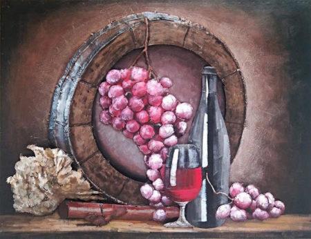 Tableau Vin pour cuisine moderne