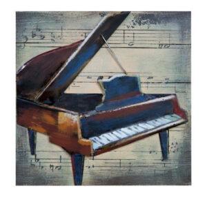 Tableau deco piano
